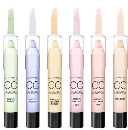 CC Korrekturstift gegen dunkle Flecken - Max Factor CC Colour Corrector Corrects Dark Spots Dark — Bild N3