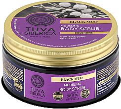 Düfte, Parfümerie und Kosmetik Modellierendes Körperpeeling mit sibirischem Schwarzschlamm - Natura Siberica Tuva Siberica Black Mud Modeling Body Scrub