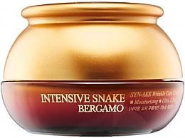 Düfte, Parfümerie und Kosmetik Feuchtigkeitsspendende Gesichtscreme mit Schlangengiftextrakt - Bergamo Intensive Snake Wrinkle Care Cream