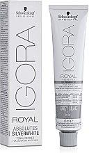Düfte, Parfümerie und Kosmetik Haarfarbe - Schwarzkopf Absolutes Silver White