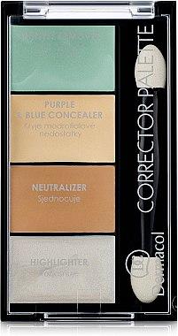 Concealer- und Highlighter-Palette für das Gesicht - Dermacol Corrector Palette — Bild N1