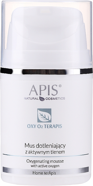 Creme-Mousse für das Gesicht mit aktivem Sauerstoff - APIS Professional Home TerApis Oxygenating Mousse — Bild N1