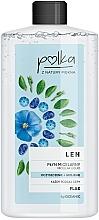 Düfte, Parfümerie und Kosmetik Mizellen Reinigungslotion mit Lein - Polka Micellar Water