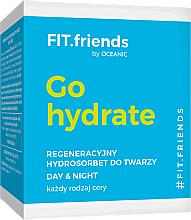 Gesichtscreme-Sorbet für alle Hauttypen - AA Cosmetics FIT.Friends Go Hydrate Hydrosorbet — Bild N3