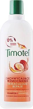 Shampoo für stark geschädigtes Haar mit Bio Arganöl - Timotei Shampoo Miraculous Repair — Bild N1