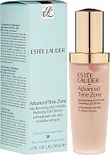 Düfte, Parfümerie und Kosmetik Feuchtigkeitsspendendes Anti-Falten Gesichtsgel - Estee Lauder Advanced Time Zone Wrinkle Hydrating Gel Oil-Free