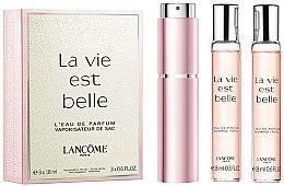 Düfte, Parfümerie und Kosmetik Lancome La Vie Est Belle - Duftset (Eau de Parfum/18ml + Nachfüllung/2x18ml)