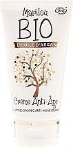 Düfte, Parfümerie und Kosmetik Feuchtigkeitsspendende Anti-Aging Gesichtscreme mit Arganöl, Vitamin E und Sheabutter - Marilou Bio Creme Anti-Age