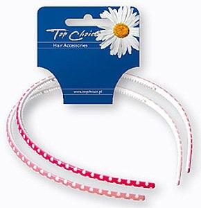 Haarreifen 27482 rot und rosa 2 St. - Top Choice — Bild N1