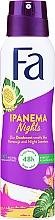 "Düfte, Parfümerie und Kosmetik Deospray ""Ipanema Nights"" - Fa Ipanema Nights Deo Spray"