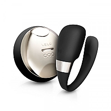Düfte, Parfümerie und Kosmetik U-förmiger Paarvibrator mit Fernbedienung schwarz - Lelo Tiani 3 Black