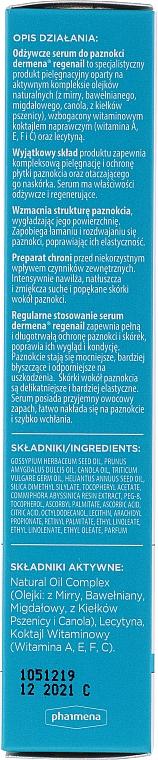 Nährendes Nagelserum - Dermena Nail Care Natural Oil Complex — Bild N2