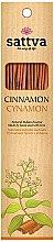 Düfte, Parfümerie und Kosmetik Räucherstäbchen Cinnamon - Sattva Cinnamon Incense Sticks