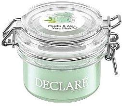 Düfte, Parfümerie und Kosmetik Anti-Stress Gesichtsmaske mit grünem Tee und Aloe Vera - Declare Matcha and Aloe Vera Mask