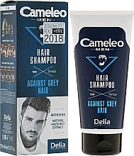 Düfte, Parfümerie und Kosmetik Shampoo gegen graues Haar für Männer - Delia Cameleo Men Against Grey Hair Shampoo