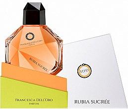 Düfte, Parfümerie und Kosmetik Francesca Dell`Oro Rubia Sucree - Eau de Parfum