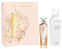 Düfte, Parfümerie und Kosmetik Adolfo Dominguez Agua Fresca de Rosas Blancas - Duftset (Eau de Toilette 120ml + Körperlotion 300ml)