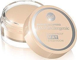Düfte, Parfümerie und Kosmetik Wasserdichter Lidschatten mit mattierendem Effekt - Bell Waterproof Mat Hypo Allergenic Eyeshadow