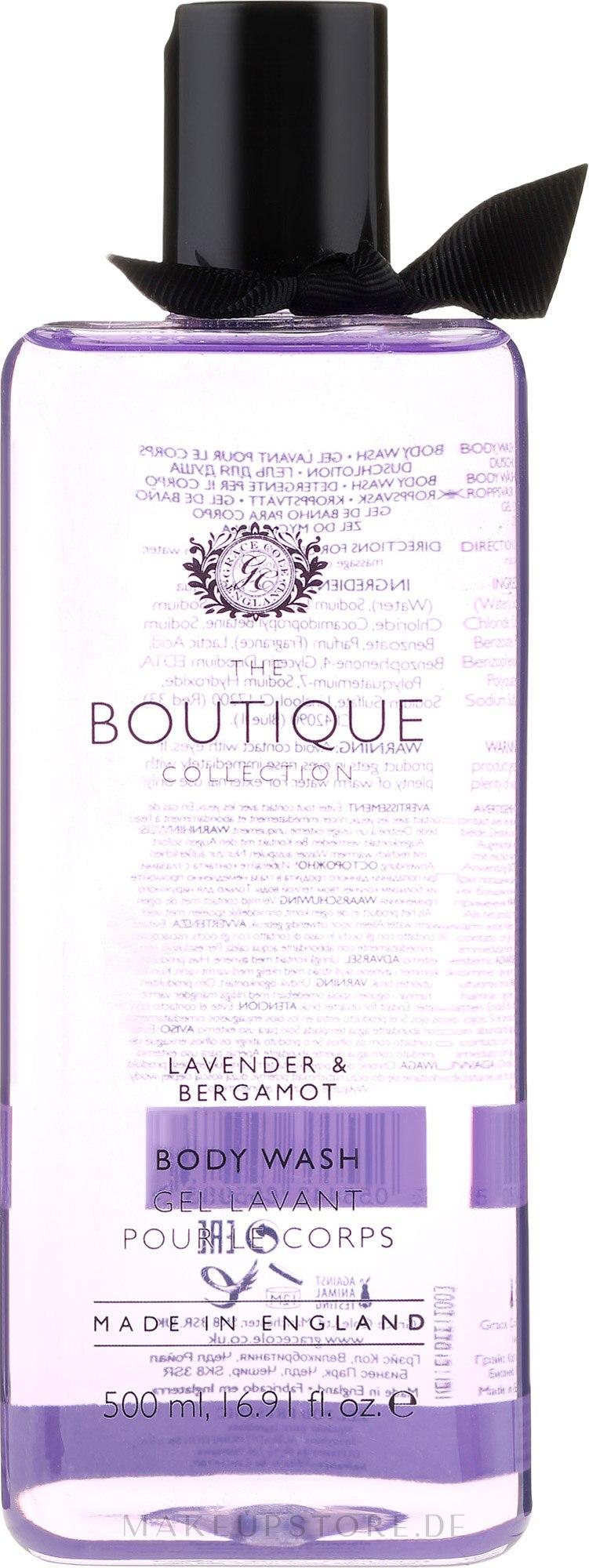 "Duschgel ""Lavendel und Bergamotte"" - Grace Cole Boutique Lavender & Bergamot Body Wash — Bild 500 ml"