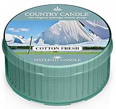 Düfte, Parfümerie und Kosmetik Duftkerze Daylight Cotton Fresh - Country Candle Cotton Fresh Daylight