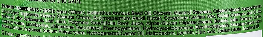 Straffender und feuchtigkeitsspendender Bio Körperbalsam mit Aloe Vera für trockene Haut - Eveline Cosmetics Bio Organic Firming & Moisturizing Body Bio Balm Aloe Vera — Bild N3