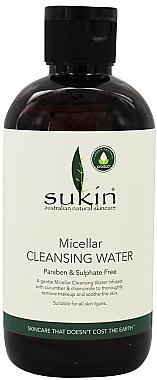 Mizellen-Gesichtsreinigungswasser mit Gurke und Kamille - Sukin Micellar Cleansing Water — Bild N1