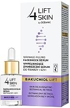 Düfte, Parfümerie und Kosmetik Anti-Falten Serum für Gesicht und Hals mit Lifting-Effekt und Bakuchiol - Lift4Skin Bakuchiol Lift Wrinkle-Filling Face & Neck Serum