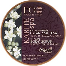 Düfte, Parfümerie und Kosmetik Vitamin-Körperpeeling - ECO Laboratorie Karite SPA Body Scrub