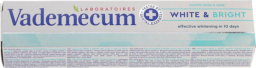 Aufhellende Zahnpasta mit Provitamin Komplex - Vademecum Pro Vitamin Whitening Toothpaste — Bild N1