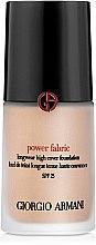 Düfte, Parfümerie und Kosmetik Langanhaltende Foundation LSF 35 - Giorgio Armani Power Fabric Foundation