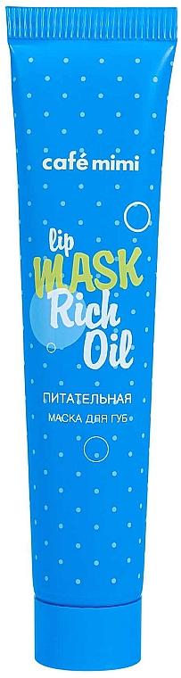 Nährende Lippenmaske - Cafe Mimi Lip Mask Rich Oil — Bild N1