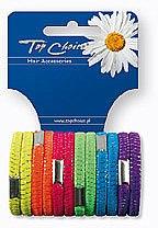 Haargummis Farb-Mix 12 St. 22470 - Top Choice — Bild N1