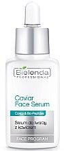 Düfte, Parfümerie und Kosmetik Aufbauendes Gesichtsserum mit Kaviar und Bio-Peptiden - Bielenda Professional Program Caviar Face Serum