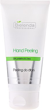 Handpeeling mit Seidenproteinen und Harnstoff - Bielenda Professional Hand Peeling — Bild N1