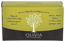 Düfte, Parfümerie und Kosmetik Naturseife mit Olivenöl - Olivia Beauty & The Olive Tree Natural Bar Soap Extra Olive Oil