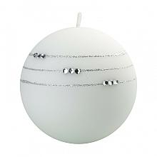 Düfte, Parfümerie und Kosmetik Dekorative Kerze in Kugelform weiß 10 cm - Artman Kolia