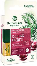Düfte, Parfümerie und Kosmetik Lippenschutzöl - Farmona Herbal Care Lip Oil