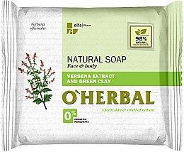 Düfte, Parfümerie und Kosmetik Naturseife mit Eisenkraut-Extrakt und grünem Tee - O'Herbal Natural Soap