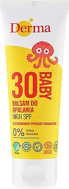 Sonnenschutzbalsam für Kinder SPF 30 - Derma Eco Baby Sun Screen High SPF30 — Bild N1