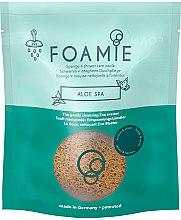 Düfte, Parfümerie und Kosmetik Duschschwamm mit integriertem Cremeschaumherz mit Aloe Vera - Foamie Aloe Spa