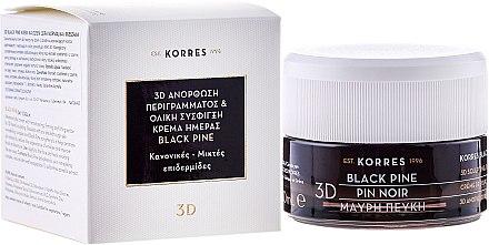 Tägliche Anti-Falten-Creme mit Schwarzkiefer - Korres 3D Black Pine Day Cream — Bild N1
