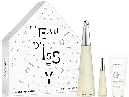 Düfte, Parfümerie und Kosmetik Issey Miyake L'Eau D'Issey - Duftset (Eau de Toilette 100ml + Eau de Toilette 10ml + Körperlotion 50ml)