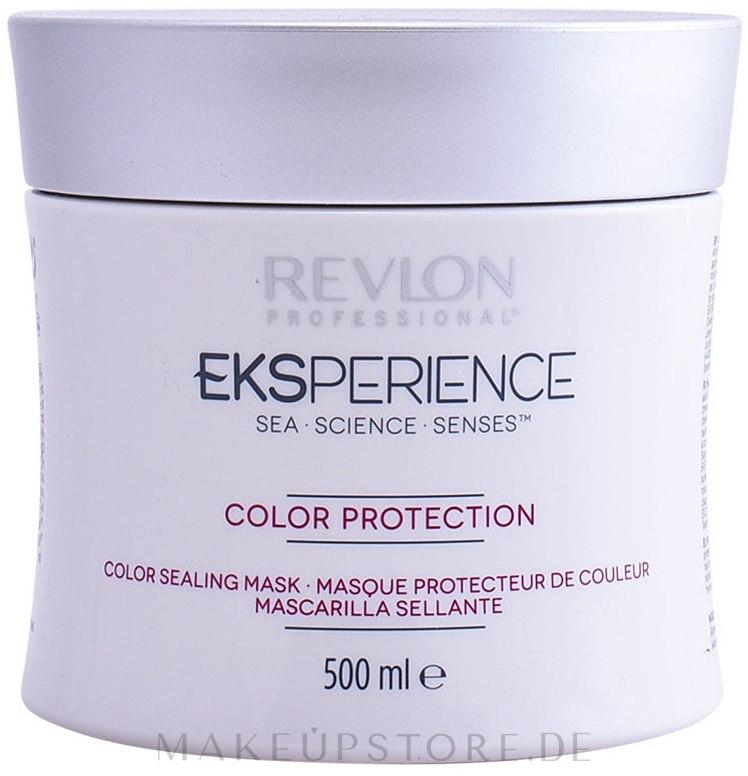Haarmaske für coloriertes Haar - Revlon Professional Eksperience Color Maintenance Mask — Bild 200 ml