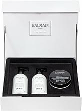 Düfte, Parfümerie und Kosmetik Haarpflegeset - Balmain Paris Hair Couture Moisturizing Care Set (Shampoo 300ml + Haarspülung 300ml + Haarmaske 200ml)