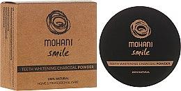 100% Natürliches bleichendes Zahnpulver mit Holzkohle - Mohani Smile Teeth Whitening Charcoal Powder — Bild N1