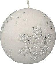 Düfte, Parfümerie und Kosmetik Dekorative Kerze Snowflake - Artman Christmas Candle Snowflake Ø10cm