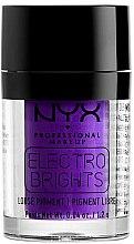 Düfte, Parfümerie und Kosmetik Cremiger Pigment-Lidschatten - NYX Electro Brights Loose Pigment