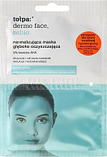 Düfte, Parfümerie und Kosmetik Tiefenreinigende Gesichtsmaske - Tolpa Dermo Face Sebio Normalizing Deep Cleansing Mask