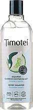 Düfte, Parfümerie und Kosmetik Erfrischendes Detox-Shampoo mit 100% Gurkenextrakt - Timotei Detox Fresh Shampoo