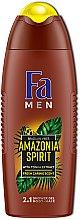 Düfte, Parfümerie und Kosmetik 2in1 Duschgel für Körper und Haar mit Tonka-Extrakt - Fa Men